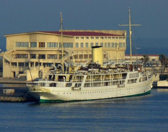El horriya Samuda Bros, imbarcazione da 145 metri