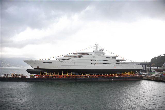 Serena di Fincantieri, la mega-imbarcazione prodotto dall'azienda italiana