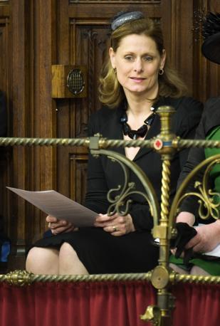 Sarah Brown, moglie del primo ministro (Reuters)