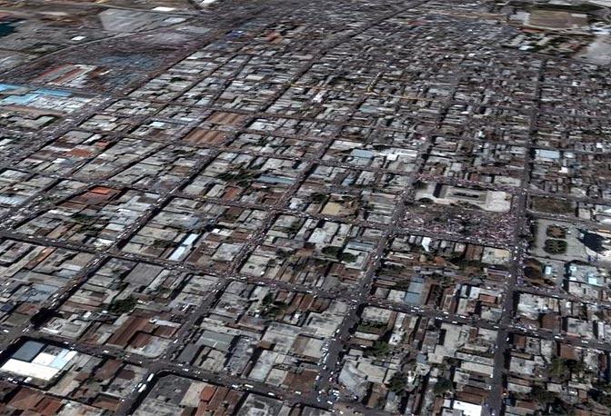 Su Google Earth sono già disponibili le immagini di Haiti subito dopo il terremoto (