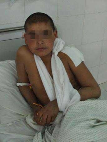 Fazel Mohammed, 10 anni