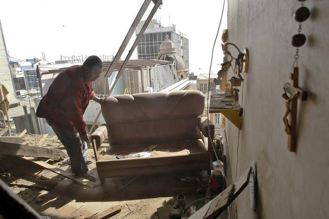 Valparaiso: quel che resta di un'abitazione (Reuters)