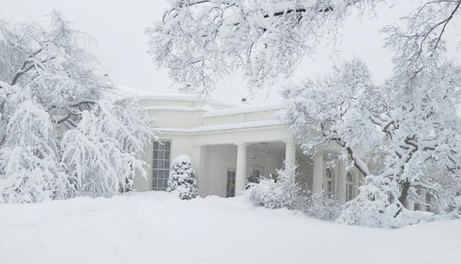 Lo studio ovale alla Casa Bianca (Ap)