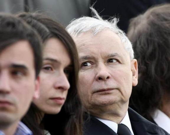 Il gemello del presidente defunto, Jaroslaw Kaczynski (Reuters)