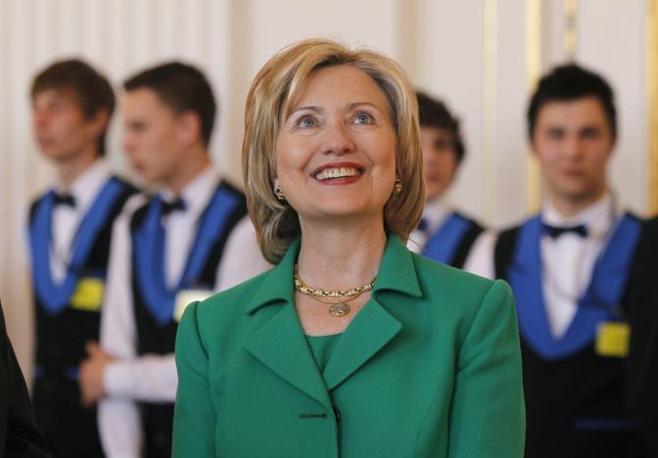 Il segretario di Stato Hillary Clinton (Reuters)