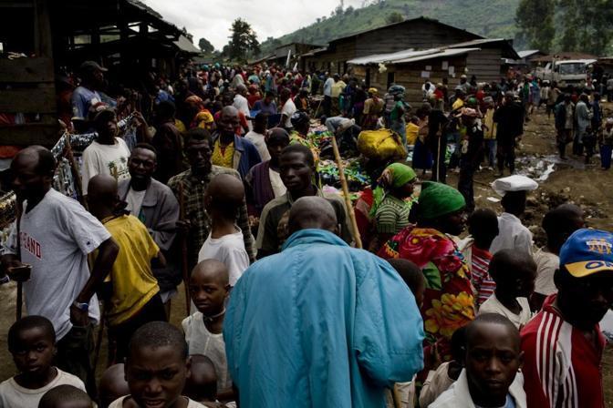 Campo di Kahe, provincia del nord Kivu (Msf)