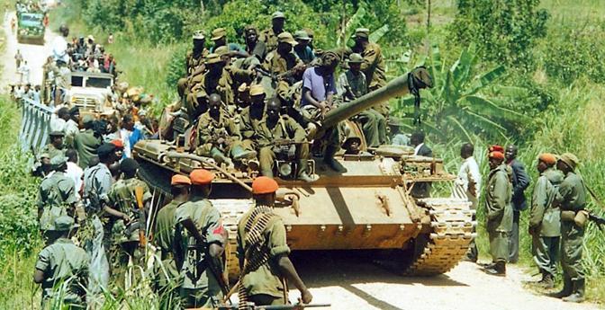 Milizie dell' Uganda People's Defense Force (UPDF) (Afp)