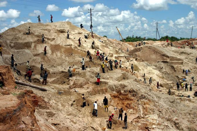 Miniera nei pressi di Lubumbashi  (Reuters)