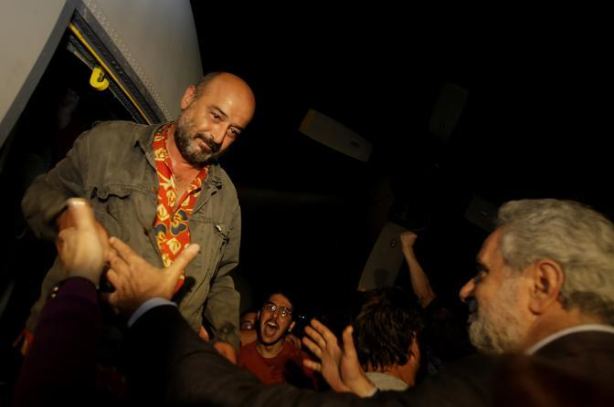 L'arrivo di un attivista ad Atene (Ap)