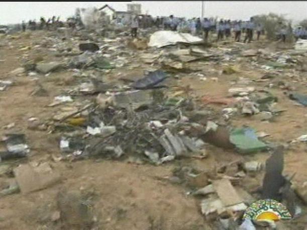 Un'altra immagine sul luogo del disastro (Ap)
