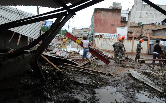 Soccorsi a Tegucigalpa (Ap)