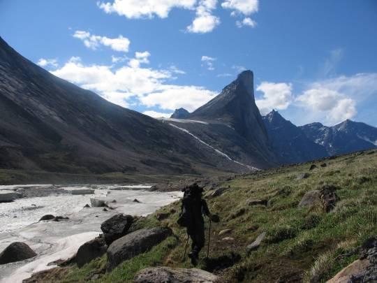 Segue un altro dei luoghi più remoti al mondo: il parco nazionale di Auyuittuq, in Canada