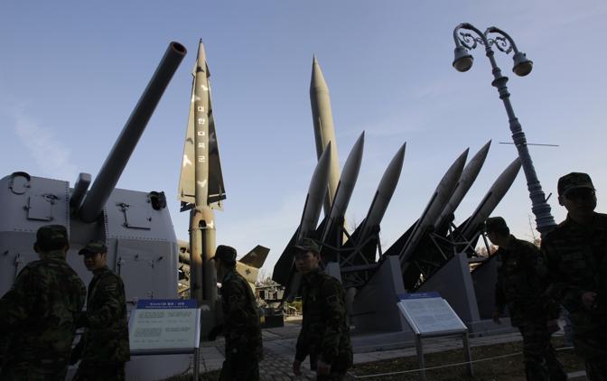 Artiglieria della Sud Corea (Ap)