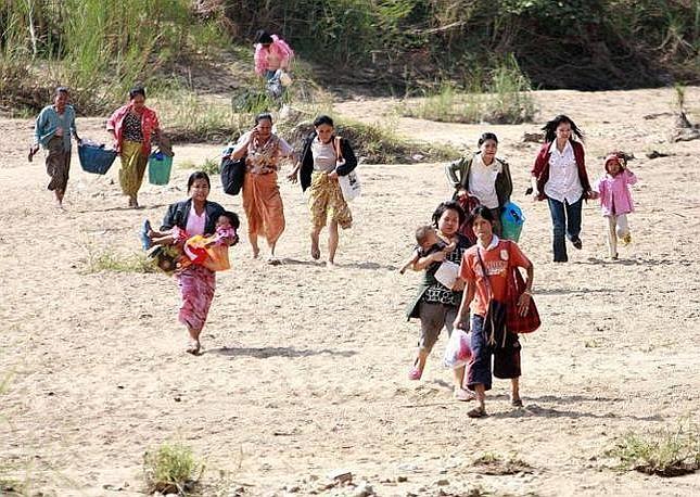 La giunta birmana ha decretato 90 giorni di stato di emergenza dopo il voto, giudicato «una farsa» dai Paesi occidentali (Epa)