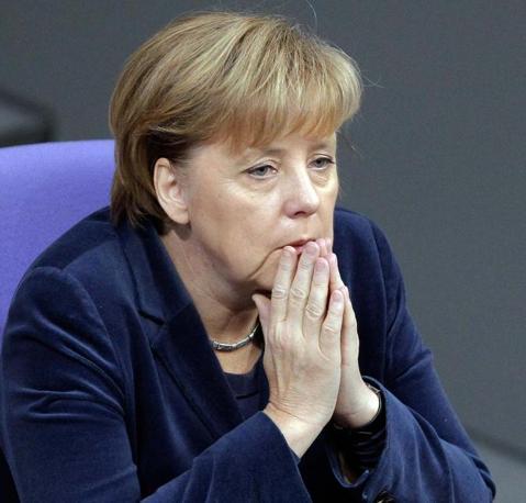 La cancelliera tedesca Angela Merkel  è una donna che «evita i rischi ed è raramente creativa, ma è tenace quando si trova in difficoltà». (Reuters)