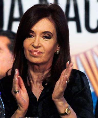 La presidente argentina Cristina Kirchner:  a Washington suscitava  «sospetti»   al punto che la segreteria di Stato arriva a chiedere «informazioni sul suo stato di salute mentale»