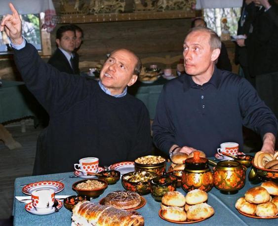 A Sochi nell'aprile del 2002 (Ansa)