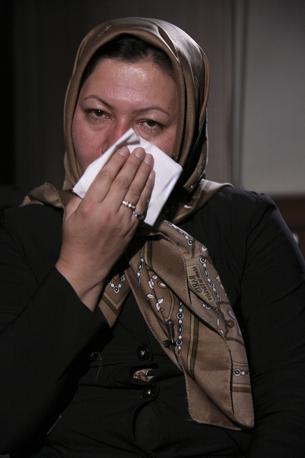 Sakineh Mohammadi Ashtiani in una foto tratta dalla televisione iraniana (Ap)