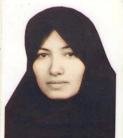 Ecco come appariva Sakineh in questi anni nella foto utilizzata per chiedere la sua scarcerazione (Ansa)