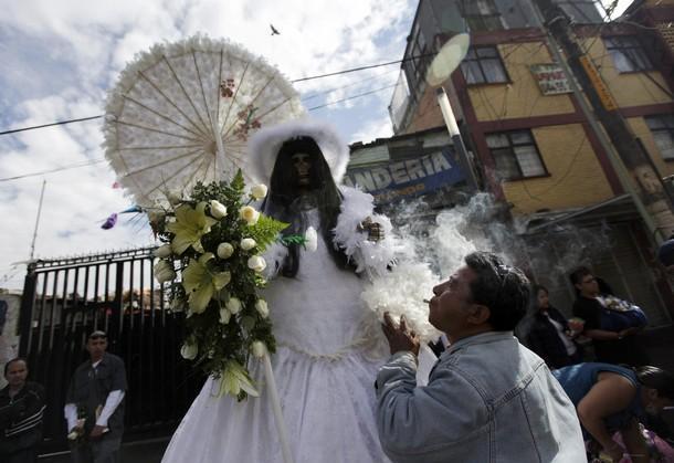 «Fedeli» della Santa Muerte