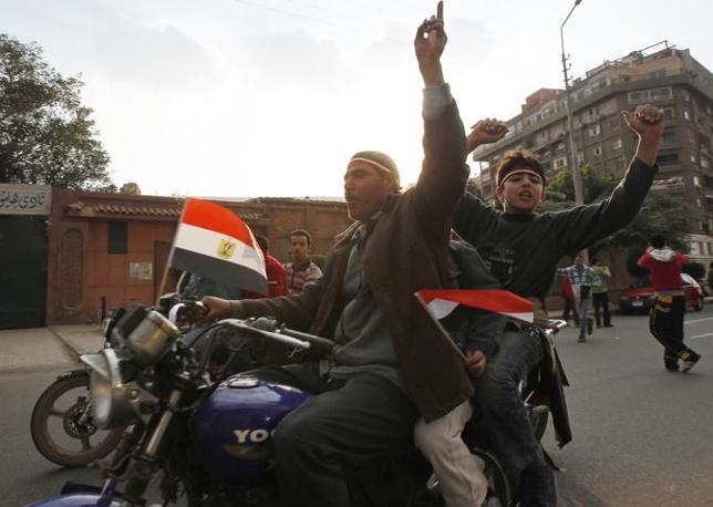 Feste a Cairo (Reuters)