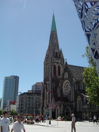La cattedrale anglicana, Cathedral Square (Corriere.it)