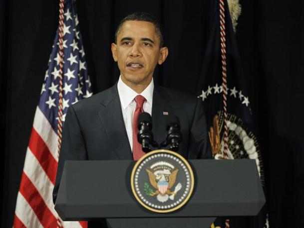 Washington, ore 21 - Il presidente Usa annuncia: «Ho autorizzato un'azione militare americana contro il regime di Gheddafi»