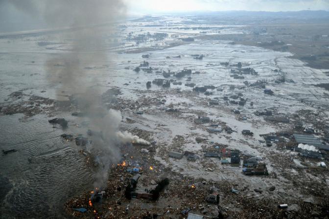 La zona di Natori (Reuters)
