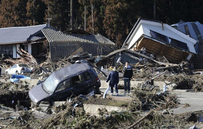 Minamisoma, prefettura di Fukushima  (Afp/Nogi)
