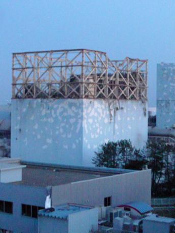 I resti del reattore 1 di Fukushima (Epa)