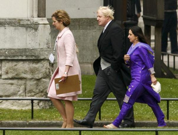Il sindaco di Londra Boris Johnson (Reuters)