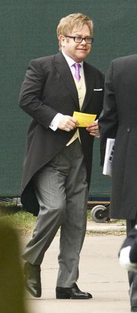 Arriva Elton John (Reuters)