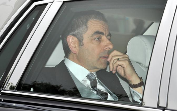 L'arrivo di Rowan Atkinson, l'attore che dà il volto a Mr. Bean (Milestone Media)