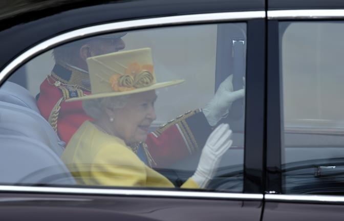 La Regina Elisabetta (Afp)