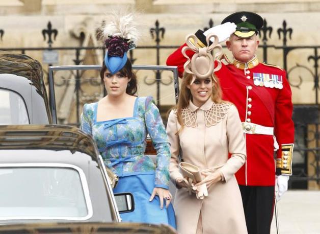 Le principesse Eugenie e Beatrice (Reuters)
