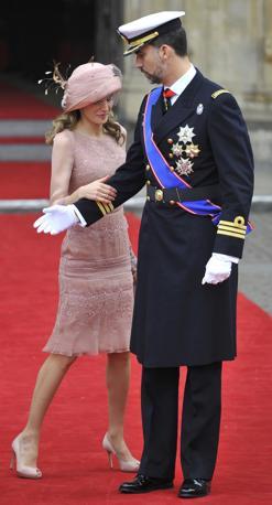 Felipe di Spagna e la moglie Letizia (Reuters)
