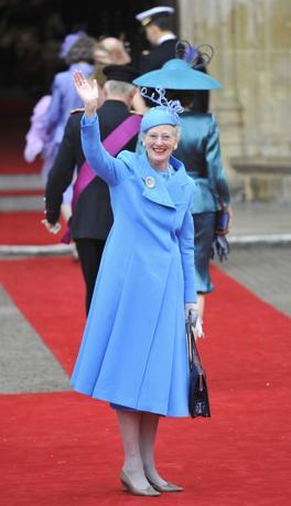 La regina Margrethe  di Danimarca (Reuters)