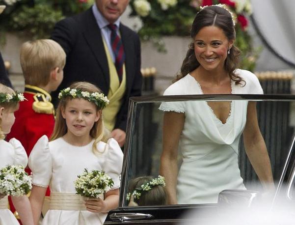 La sorella della sposa Pippa Middleton (Reuters)