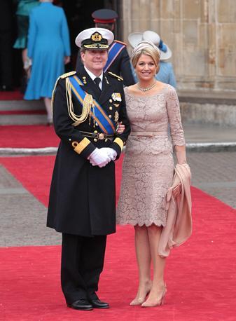 Il principe olandese Willem-Alexander e la principessa Maxima (Ap)