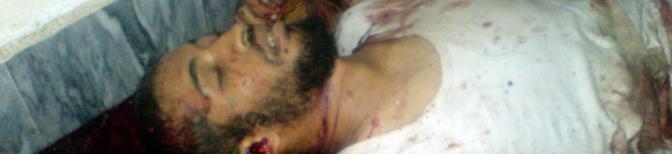 Una vittima non identificata uccisa nel raid (Reuters)