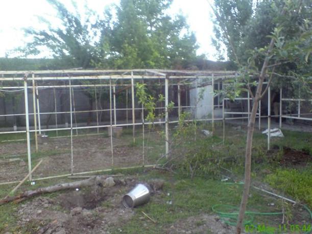 Il terreno del compound di Osama ad Abbottabad, in Pakistan (Reuters)