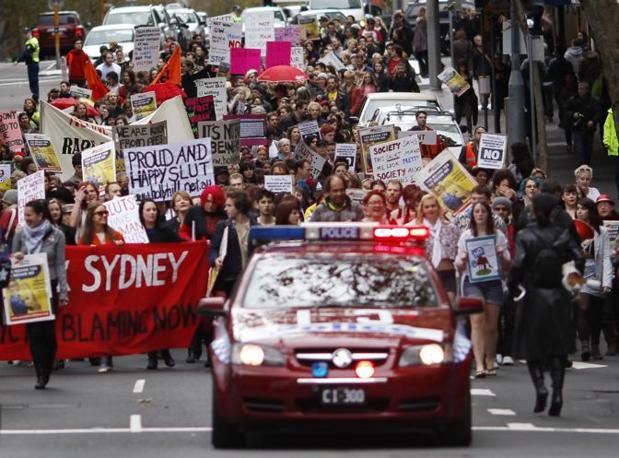 SlutWalk  a Sidney (Reuters)