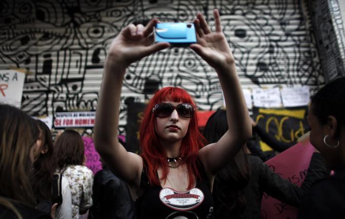 SlutWalk  a Londra (Reuters)