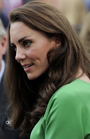 Kate Middleton a Los Angeles, ulteriore tappa del viaggio dei duchi di Cambridge (Splash News)