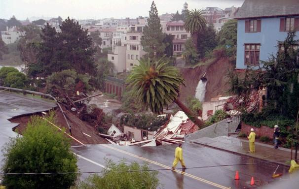Dicembre 1995, una strada nel mezzo di San Francisco