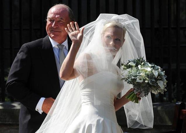 Matrimonio Zara Phillips : Si sposa la nipote ribelle della regina