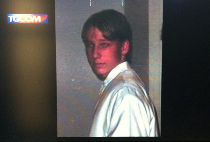Breivik adolescente in un'immagine diffusa dal Tgcom (Ansa/Tgcom)
