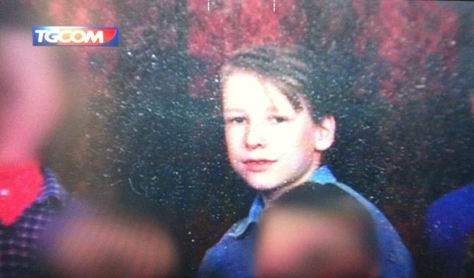 Breivik ragazzino (Ansa/Tgcom)