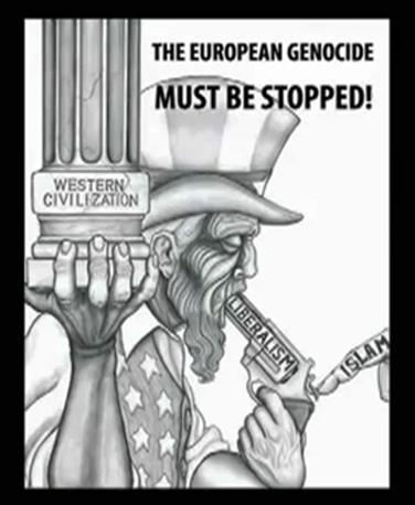 L'Islam che punta il grilletto - con la pistola del liberalismo - in bocca all'uomo occidentale