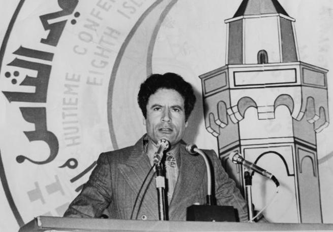 Gheddafi nel 1978